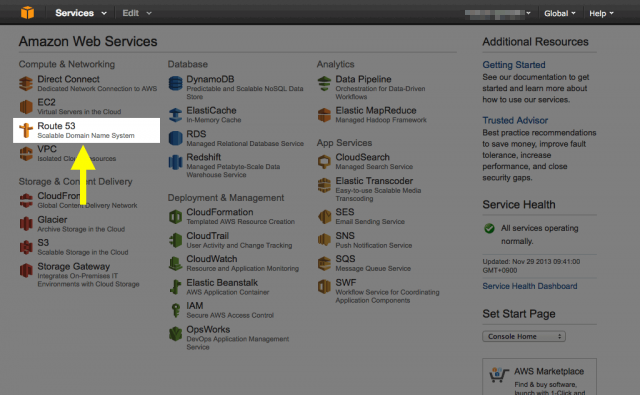 AWS Management Console 2
